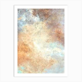 Towering Clouds Art Print