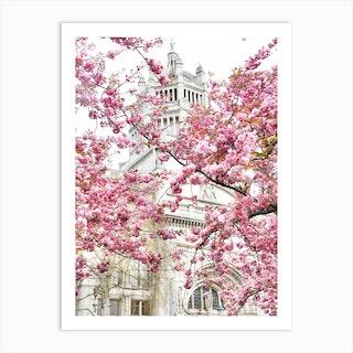 London Museum Blossom Art Print