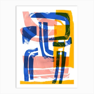 Abstract Composition 3 Art Print