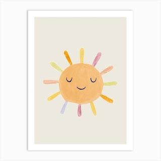 Nursery Sun13 Art Print