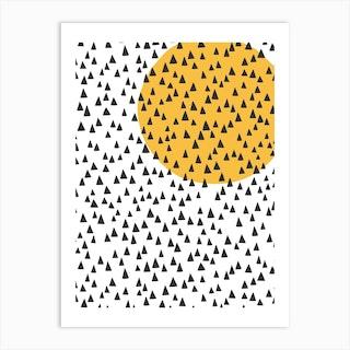 Chimes With Sun Art Print