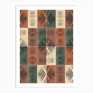 Mudcloth Tiles 03 Art Print