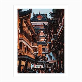 Shanghai Architecture  Art Print