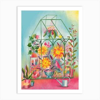 Greenhouse Dream Art Print