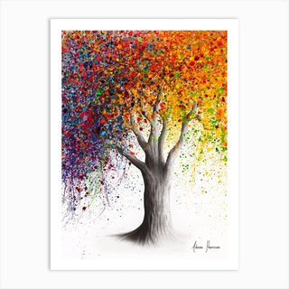 Superb Season Tree Art Print