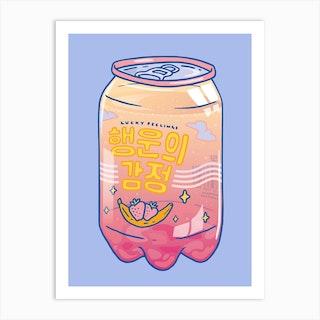 Lucky Feelings Art Print