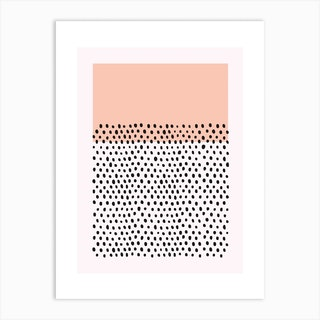 Spots And Stripes 02 Art Print