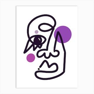 Aubergine Art Print