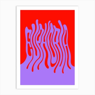 Waves Of Euphoria Art Print