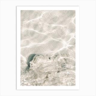 Salty Water Art Print