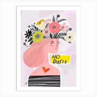 No Rush Art Print
