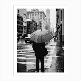 Rainy New York Viii Art Print