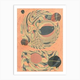 Autumn Psicodelia Art Print