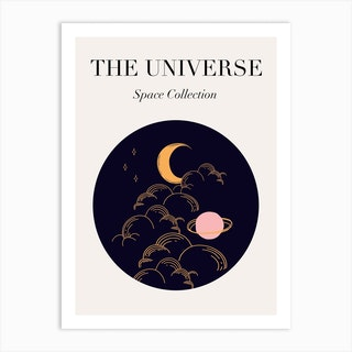 Space Collection Art Print