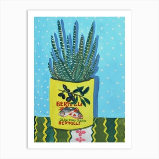 Just A Plant On My Kitchen Table Art Print