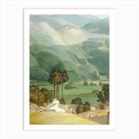 Ambleside, 1786 by Francis Towne Art Print