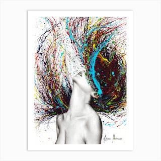 Excite Art Print