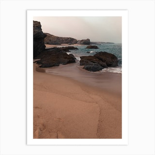 Sand And Shores Art Print