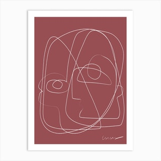 Aurelian Line Art Print
