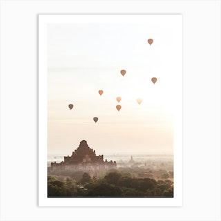Bagan Myanmar V Art Print