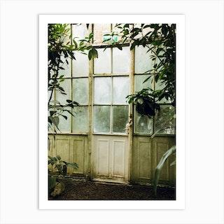 The Greenhouse Gateway Art Print