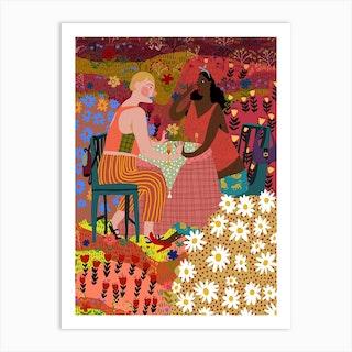 Proposal Art Print