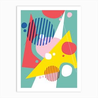 Abstract Pop Ii Art Print