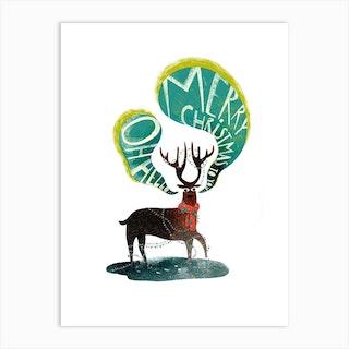 Merry Christmas 2020 Art Print