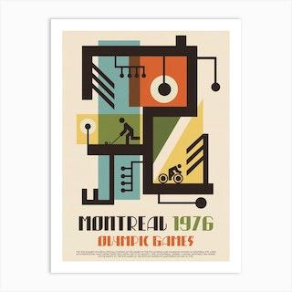 1976 Olympics Montreal Art Print