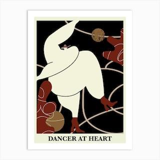 Dancer At Heart Art Print