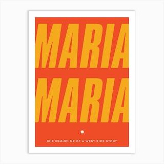 Maria Maria 2 Art Print