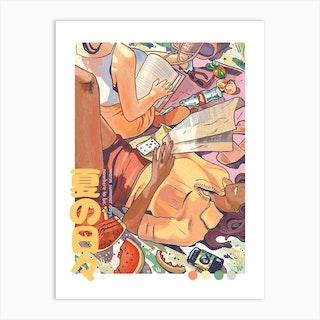 Summer Days 2 Art Print