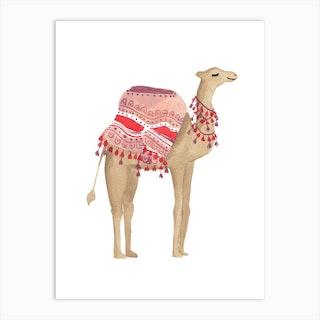 Camel 2 Art Print