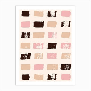 Tessie From The Block Art Print