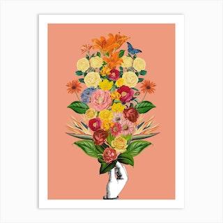 Botanical Pink Art Print