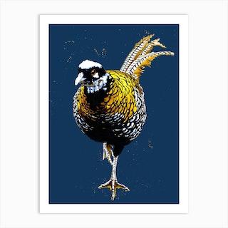 The Reeves Pheasant Art Print