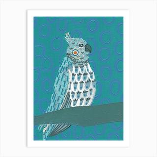 Tropical Bird 7 Art Print