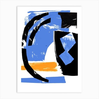 Abstract Composition 2 Art Print