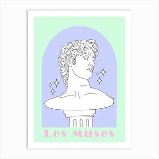 Les Muses 1 Art Print