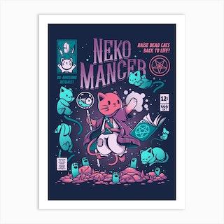 Nekomancer Art Print