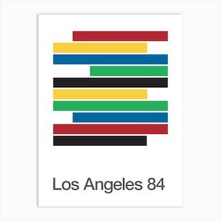 Los Angeles 84 Olympics Art Print
