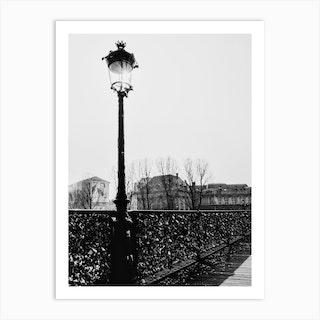 Paris Mono 1 Art Print