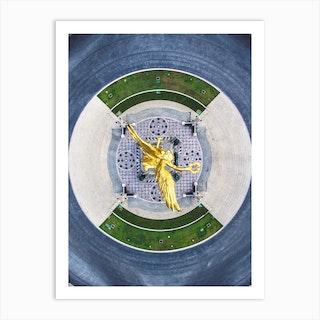 Angel Completo Art Print