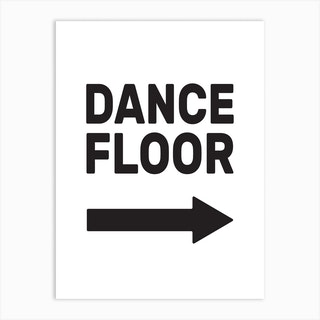 Dance Floor Art Print