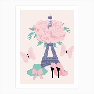 Fashion Paris Art Print