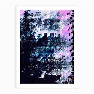 Cloud Suede Art Print