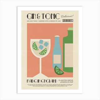 The Gin And Tonic Art Print
