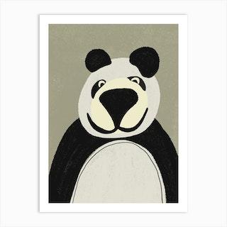 Bear Kids Art Art Print