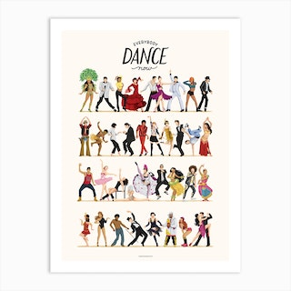 Everybody Dance Now Art Print