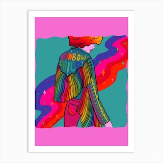 Rainbow Child Art Print